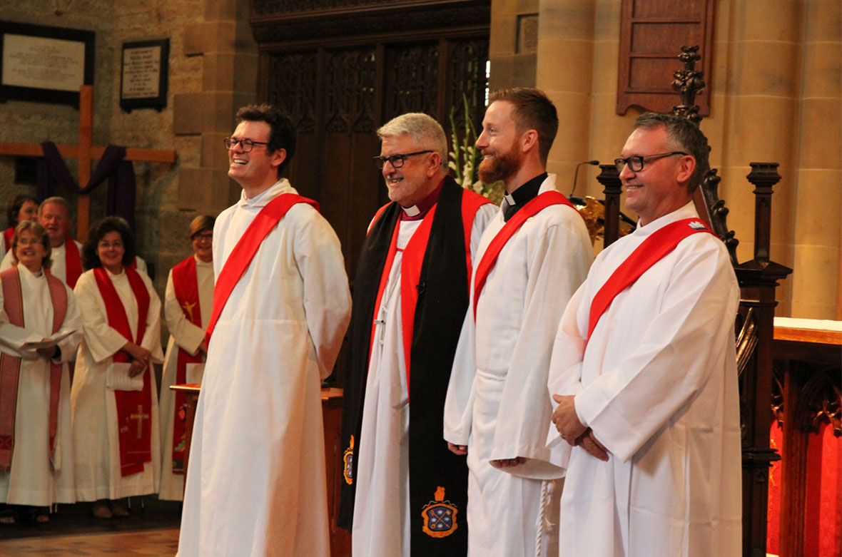 New Leaders of the Anglican Church