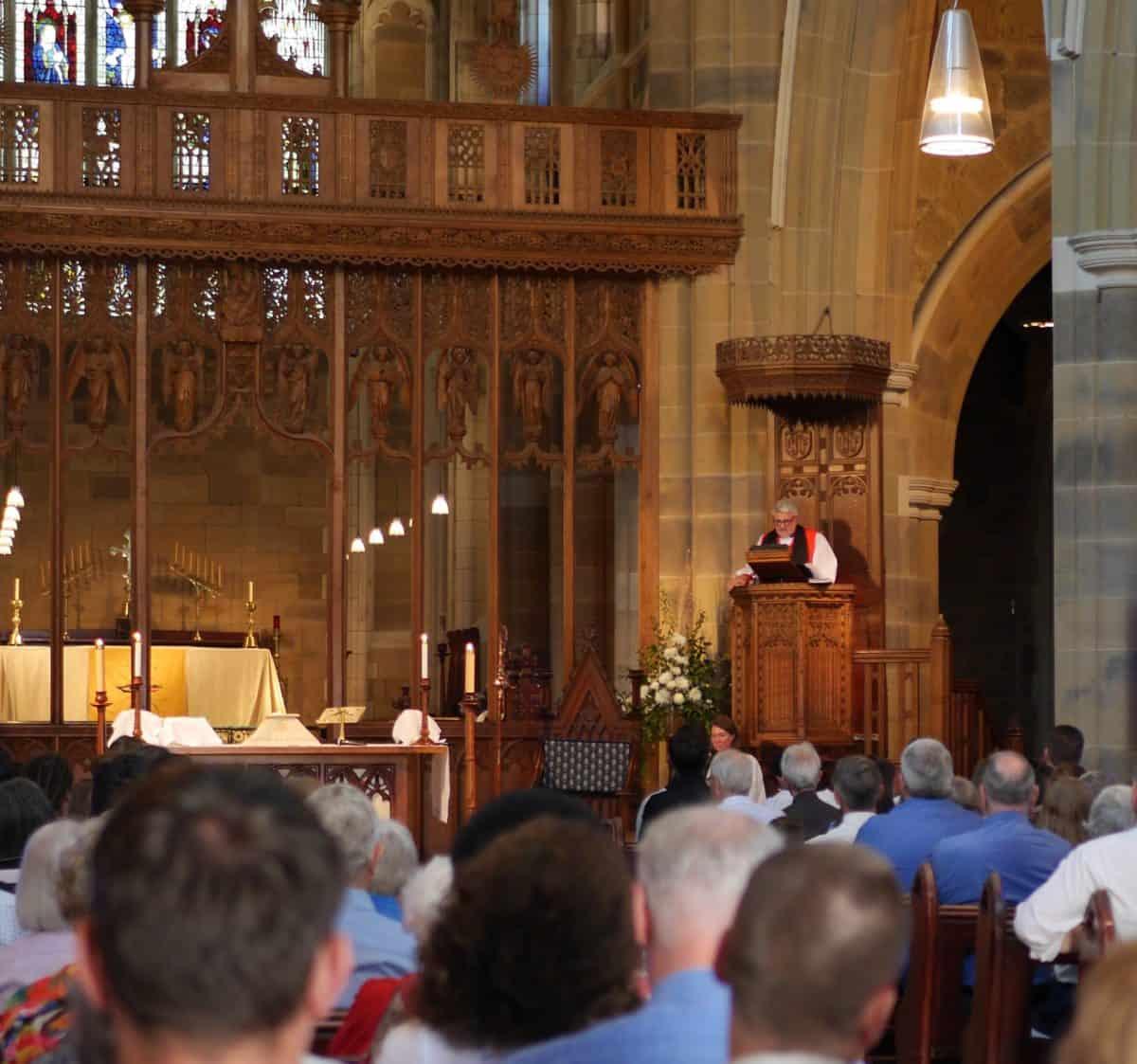 Bishop preaching best