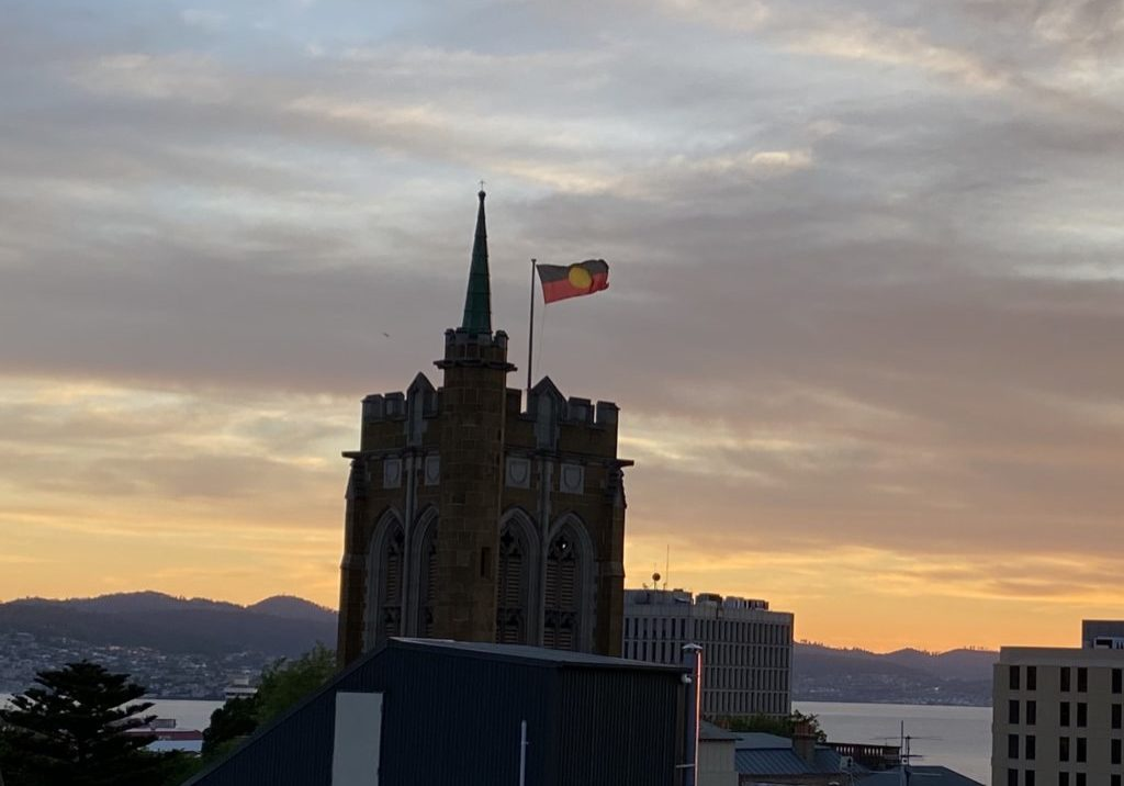 Aboriginal Flag Cathedral