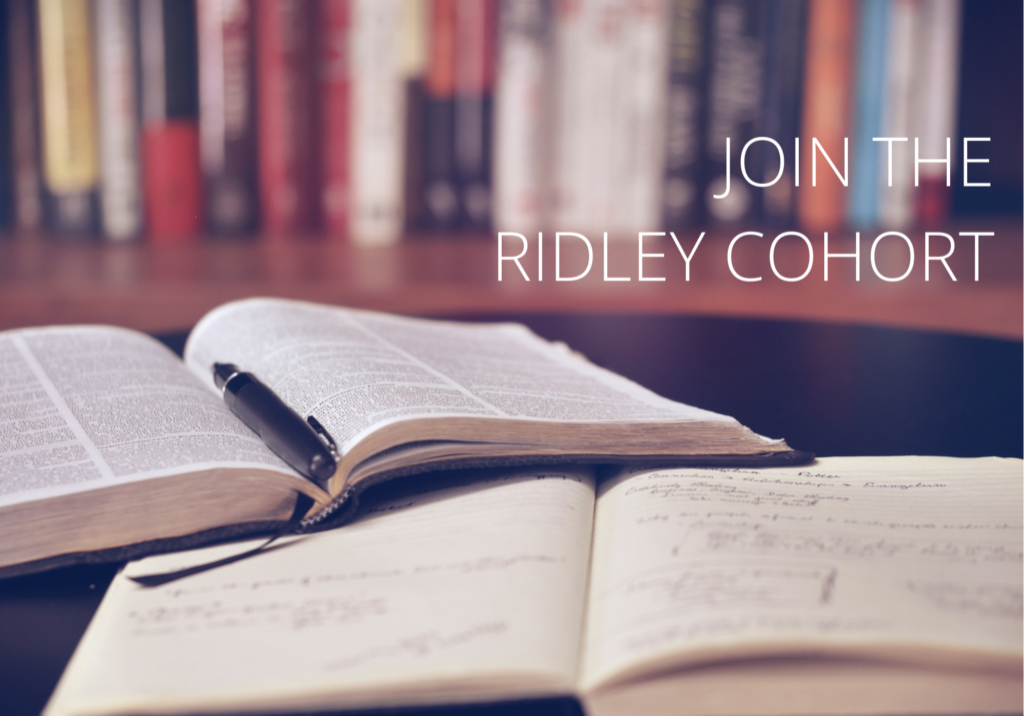 Join the Ridley Cohort
